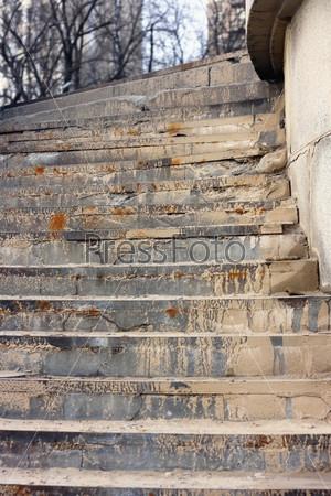 Старая лестница