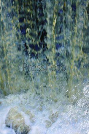 Фон из водяных струй