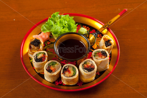 Фотография на тему Русские суши