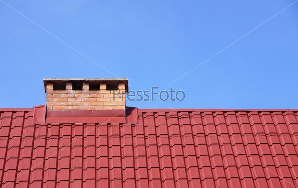 Фотография на тему Дымоход и крыша