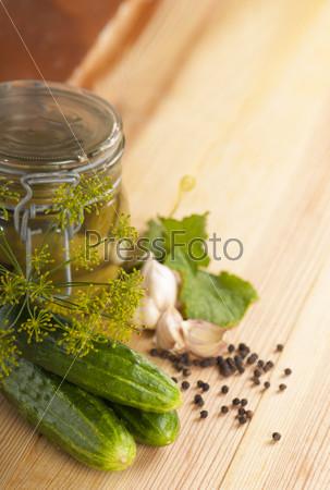 Фотография на тему Приготовление консервированных огурцов