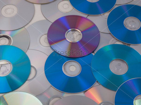 Фотография на тему CD, DVD, DB Bluray диски