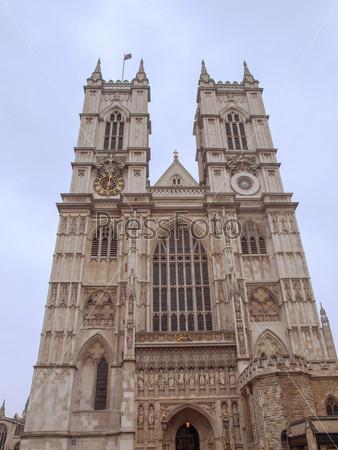 Фотография на тему Вестминстерское аббатство в Лондоне, Великобритания