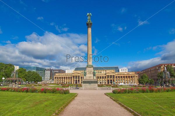 Фотография на тему Штутгарт, Замковая площадь