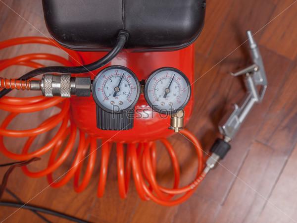 Воздушный компрессорный манометр