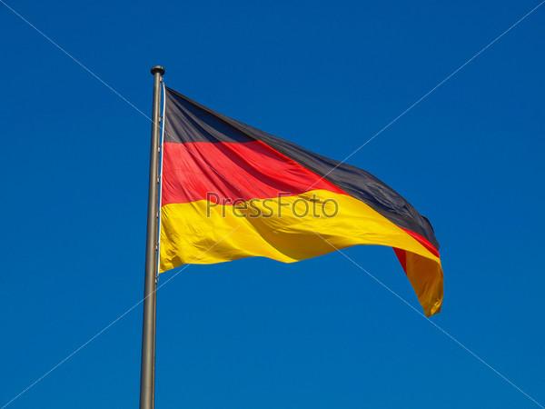 Фотография на тему Немецкий флаг
