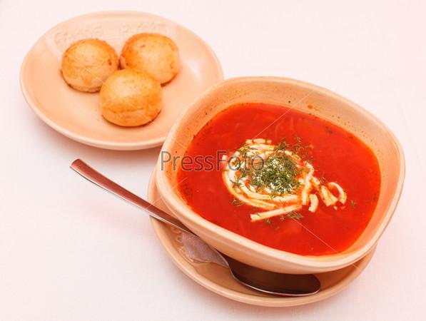 Борщ - свекольный суп
