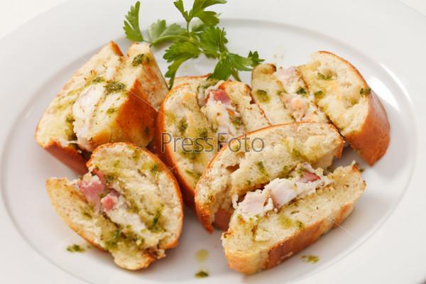 Фотография на тему Сэндвич с курицей