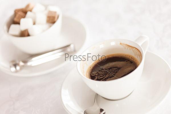 Фотография на тему Кофе с сахаром