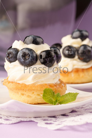 Фотография на тему Свежие фруктовые кексы