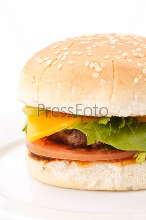 Фотография на тему Большой гамбургер