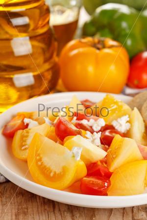Фотография на тему Салат из свежих помидоров