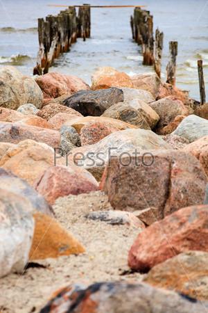 Фотография на тему Море и скалы