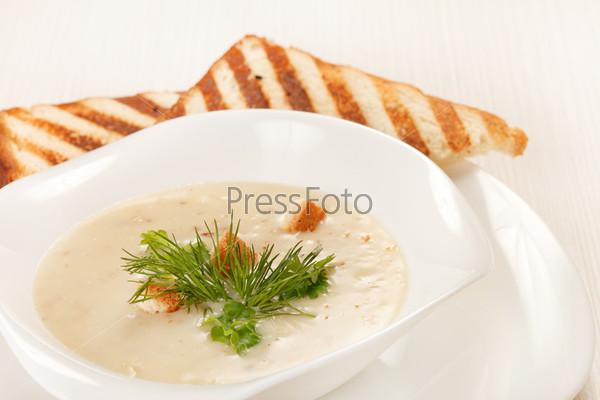 Фотография на тему Грибной суп