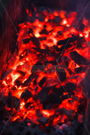Уголь, фон