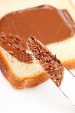Тост с шоколадом