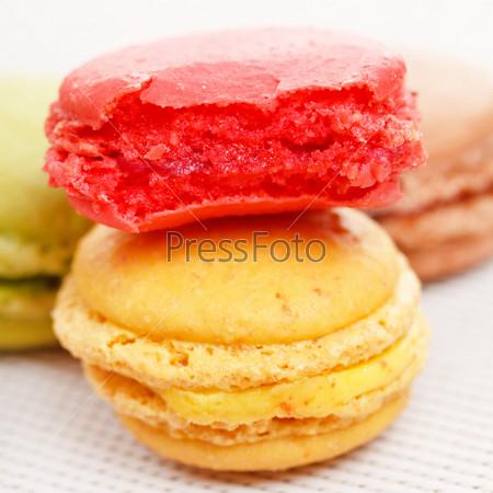 Фотография на тему Вкусное печенье макарон