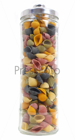 Фотография на тему Цветные макароны
