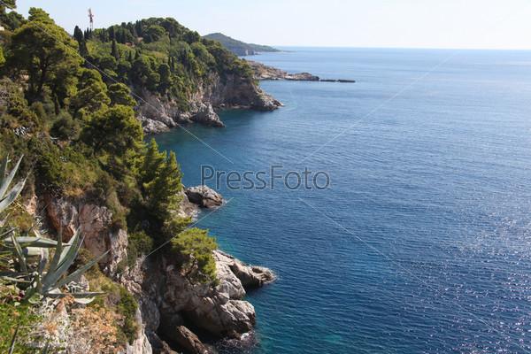 Фотография на тему Побережье Дубровника