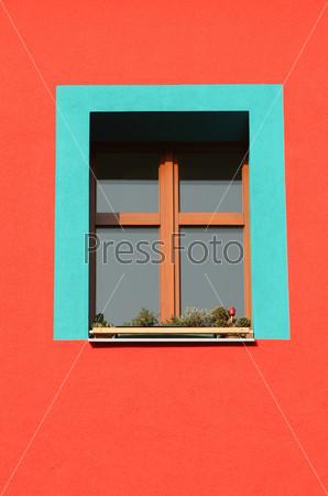 Голубое окно