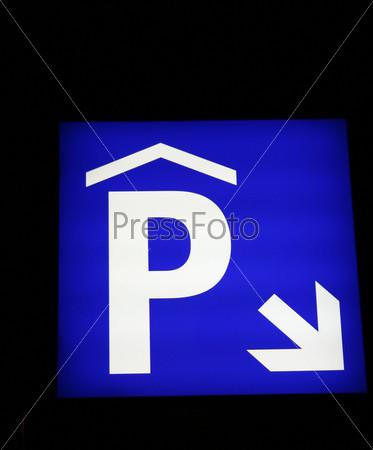 Фотография на тему Знак парковки