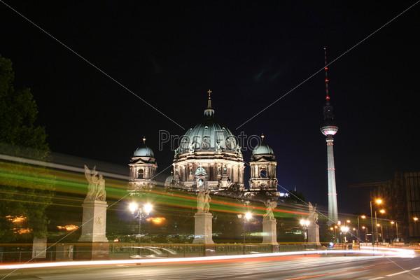 Башня Александр Платц и Берлинский собор, Германия