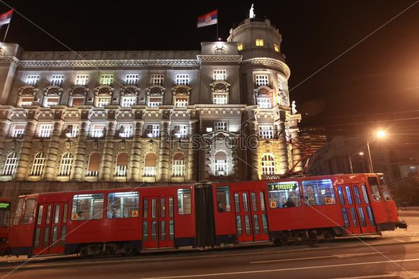 Трамвай в Белграде, Сербия