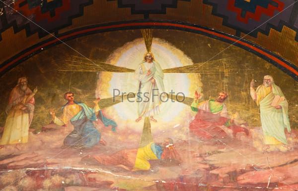 Изображение Иисуса в монастыре Св. Екатерины