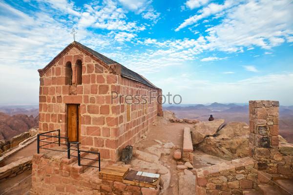 Часовня на горе Синай