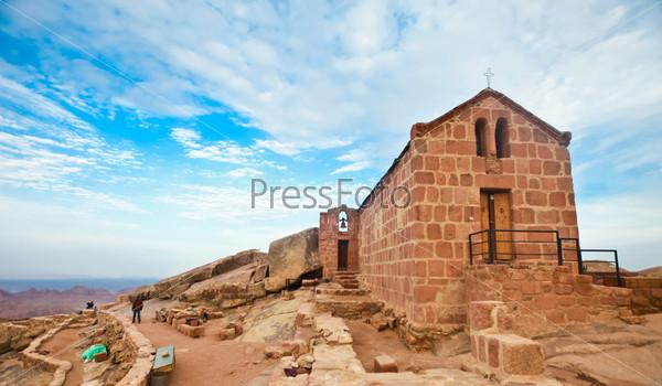 Фотография на тему Часовня на горе Синай