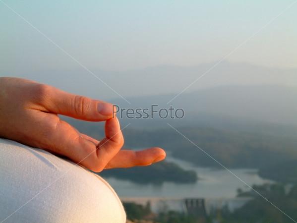 Фотография на тему Медитация на рассвете