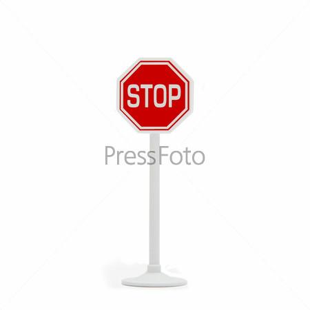 Дорожный знак остановки