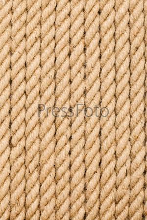 Желтые веревки в качестве фона