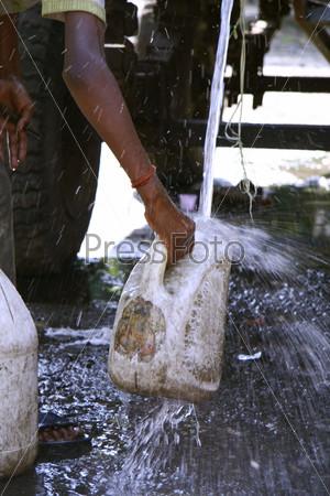Нехватка воды в индии