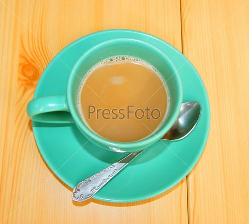 Фотография на тему Кофе на столе