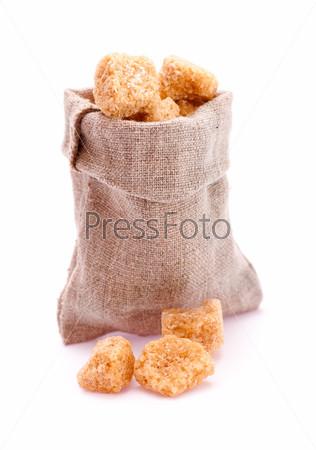 Мешочек с коричневым сахаром