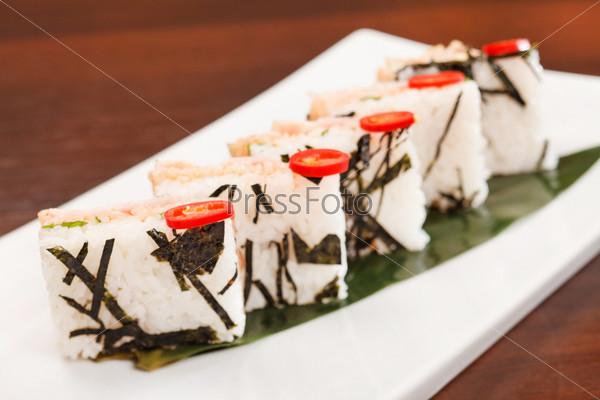 Фотография на тему Творческие суши