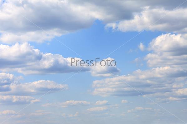 Фотография на тему Голубое небо с облаками