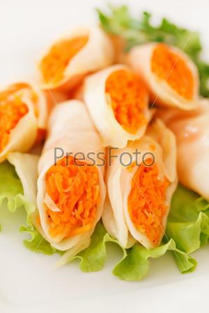Закуска с морковью