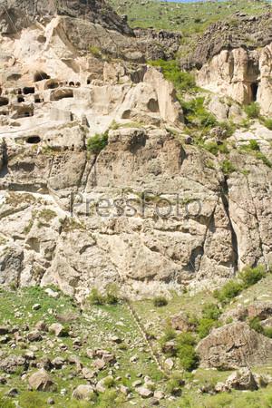 Фотография на тему Средневековый пещерный монастырь Вардзия, Грузия, Закавказье