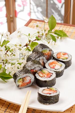 Фотография на тему Набор суши