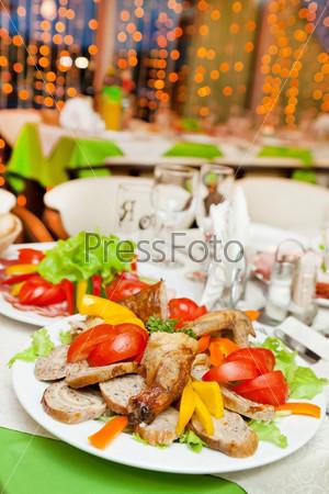 Вечеринка в ресторане