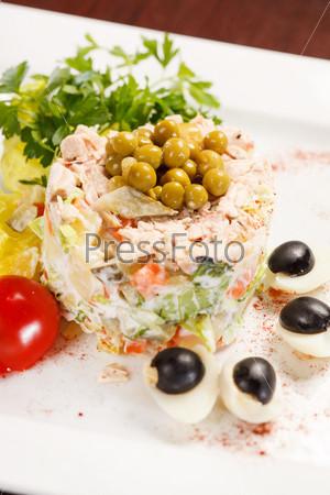Фотография на тему Русский салат