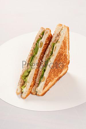 Фотография на тему Сэндвич с ветчиной