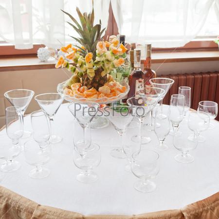 Фотография на тему Свадебная сервировка