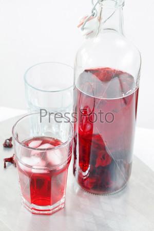Фотография на тему Летний чай из гибискуса