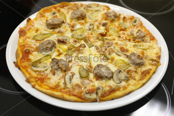 Фотография на тему Вкусная пицца