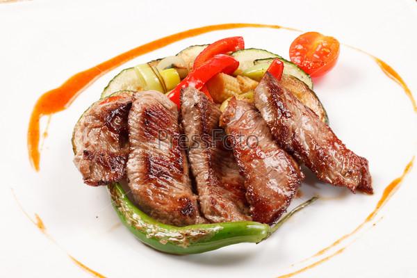 Фотография на тему Баранина с овощами
