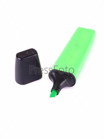Зеленый маркер