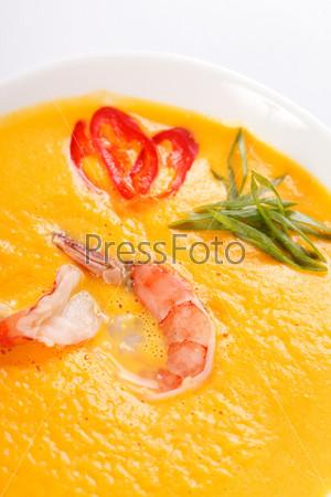 Фотография на тему Суп из тыквы